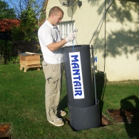 Mantair Septic Tank Conversion Unit Installation