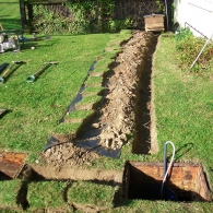 Septic Tank Conversion Unit Install